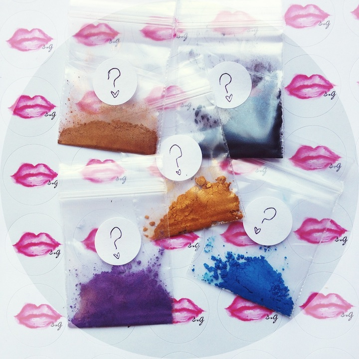 Instense Pigments Samples-